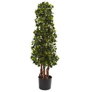 3.5 English Ivy Spiral UV Resistant (In-Door/Out-Door) Silk Tree