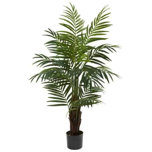 4 Areca Palm Tree Silk