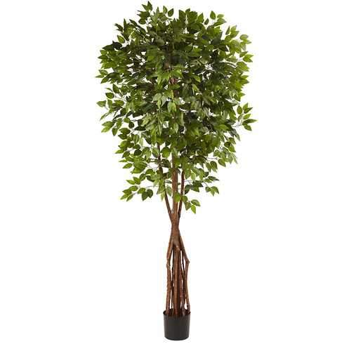7.5 Super Deluxe Ficus Tree Silk