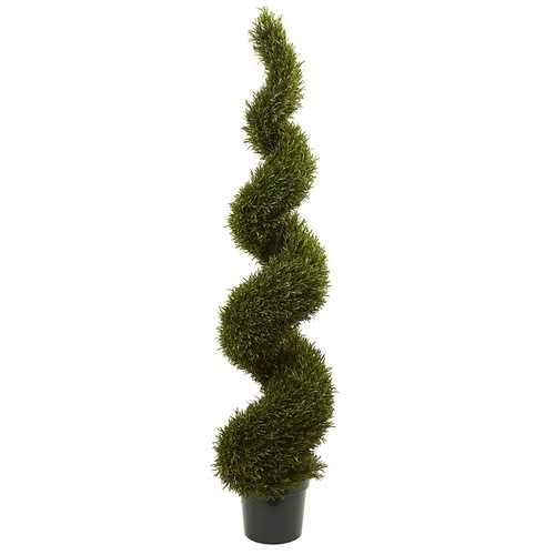 6' Rosemary Spiral Tree (Indoor/Outdoor) Silk