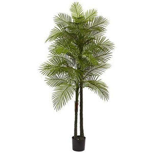 Double Robellini Palm Tree UV Resistant (Indoor/Outdoor) Silk