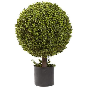 27 Boxwood Ball Topiary Silk Tree