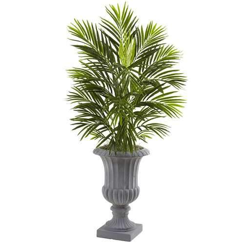 3.5 Bamboo Tree in Wooden Decorative Planter Silk