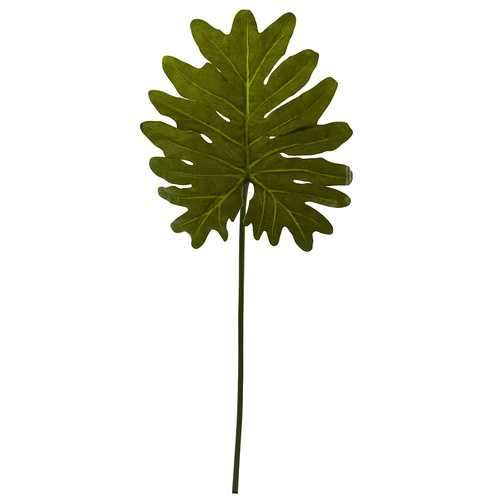 Selloum Philo Single Leaf Stem (Set of 12) Silk Plant