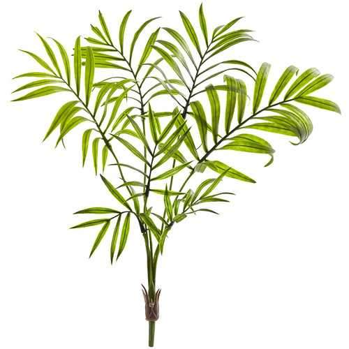 Mini Areca Palm Artificial Bush (Set of 8) Silk Plants