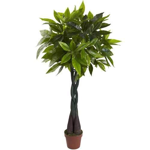 4 Money Plant (Real Touch) Silk