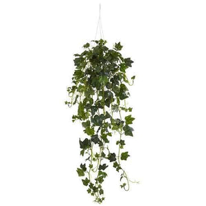 English Ivy Hanging Basket Artificial Plant Silk Plants