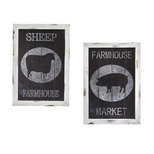 Farm to Table Wall Decor (Set of 2) Accessories