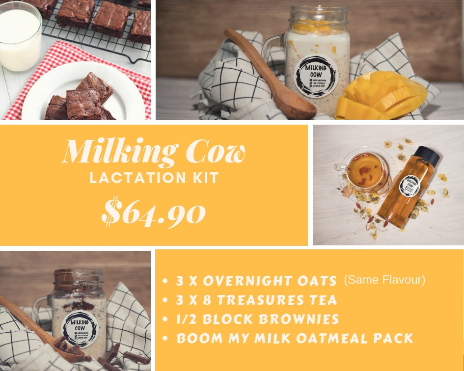 Milking Cow's Lactation Kit - milkingcowsg