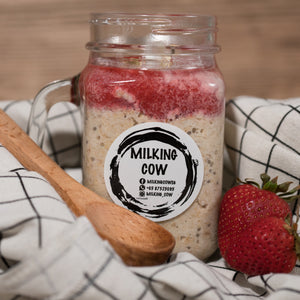 Ultimate Booster Overnight Oats - milkingcowsg