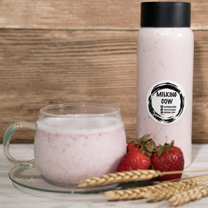 Strawberry Milkshake - milkingcowsg