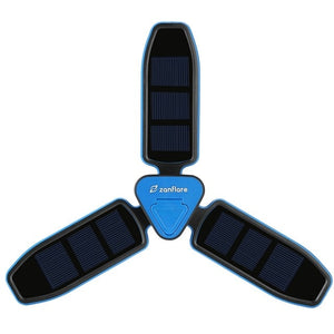 Zanflare Solar Panel Collapsible Clover Camping