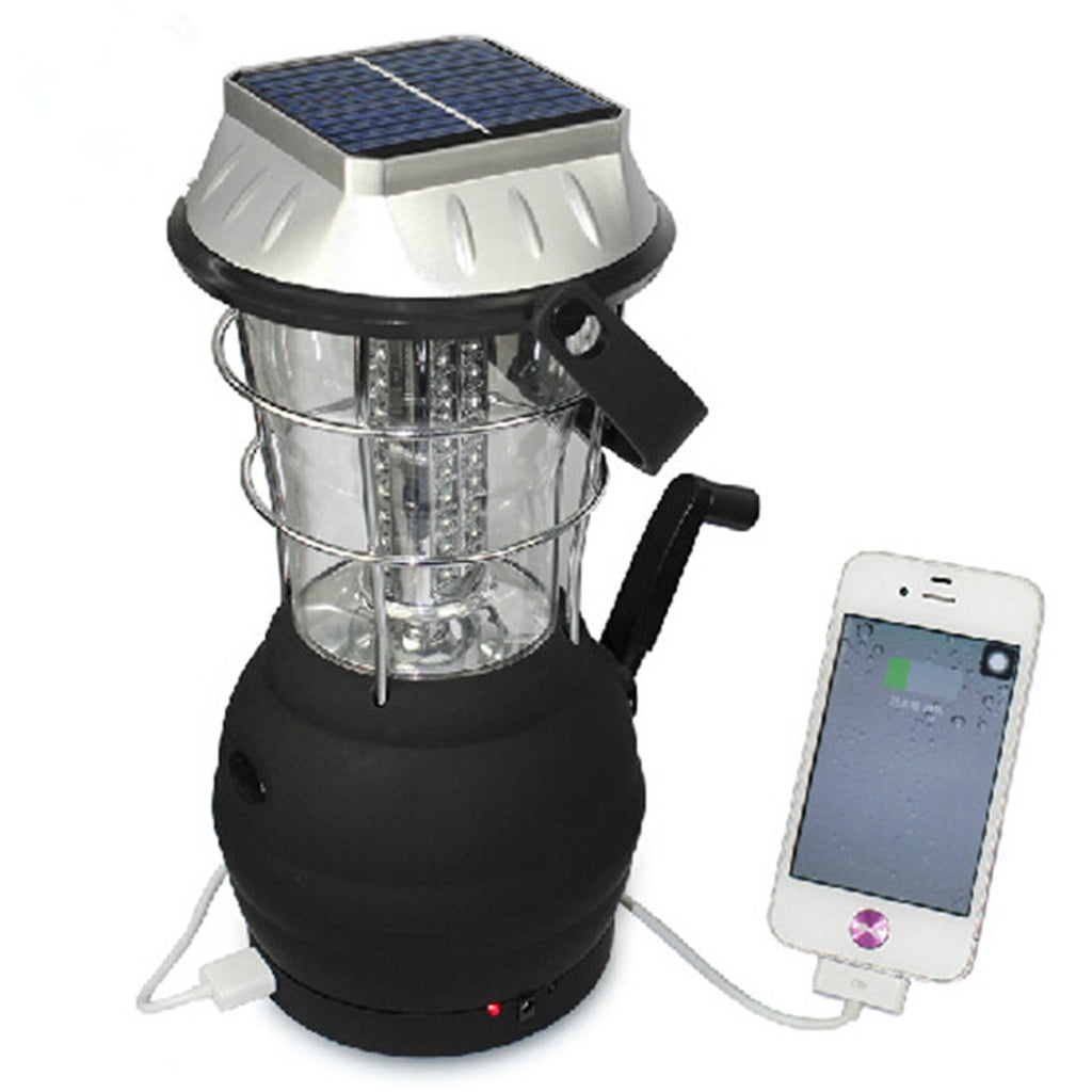 36 LED Solar Powered Rechargeable Camping Lantern