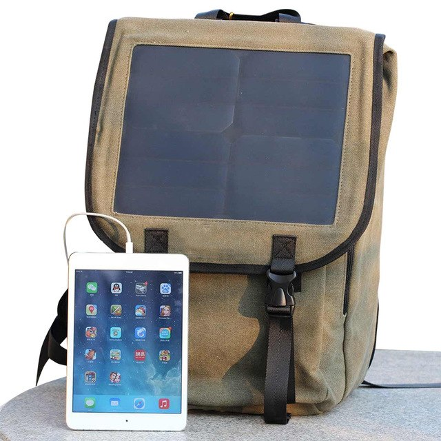 Solar Shoulder Business Travel Bag