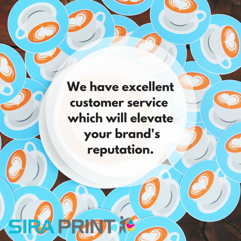 Customer Service in Sticker Printing and Selling