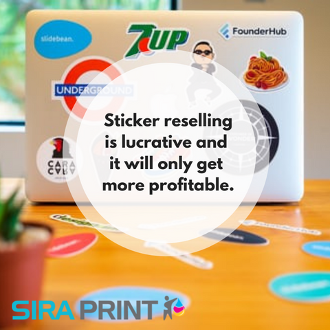Can selling stickers online be profitable?