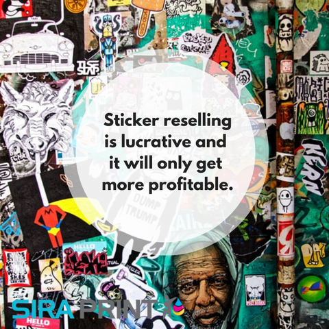 how to sell decals and stickers online through a third party