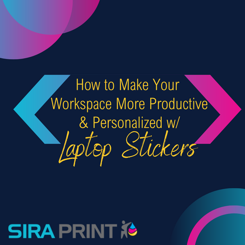How to Make Your Workspace More Fun with Laptop Stickers