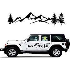 custom car decals for Jeeps and cars