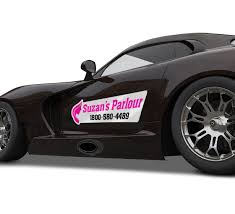 small business advertise with custom car decals Canada free shipping