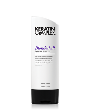 Keratin Complex Blondeshell Purple Shampoo 400ml