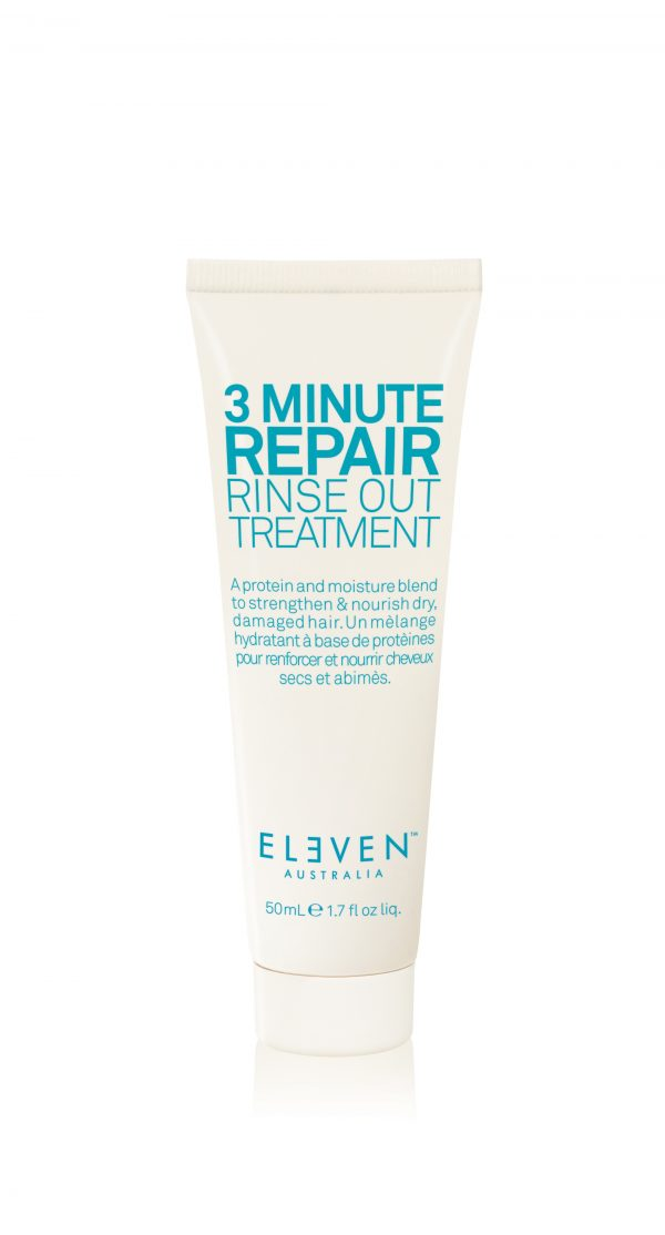 ELEVEN 3 MINUTE REPAIR RINSE OUT TREATMENT TRAVEL SIZE 50ML