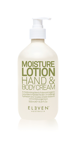 ELEVEN MOISTURE LOTION HAND & BODY CREAM 500ML