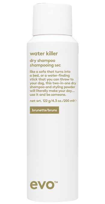 EVO Water Killer BRUNETTE Dry Shampoo 200ML