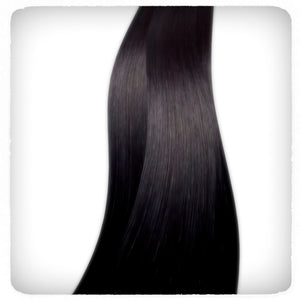 Vixen & Luxe - Onyx - Clip in Hair Extensions 150g