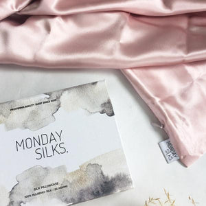 MONDAY SILK - Pillow Slip Standard