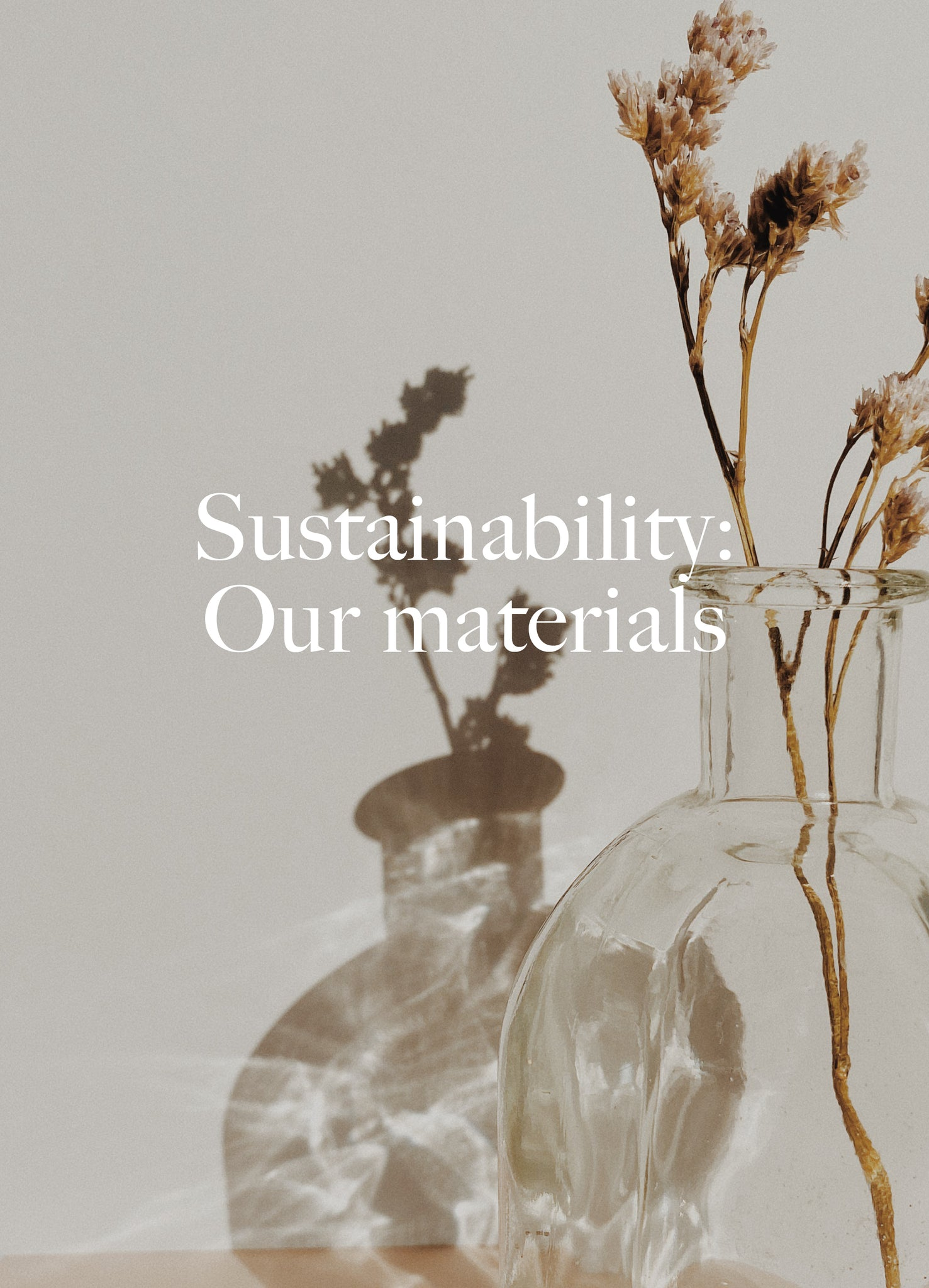 Sustainability: Our materials. Dora Larsen | Colourful Lingerie