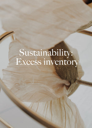 Stories-Sustainability: Excess Inventory - Dora Larsen | Colourful Lingerie