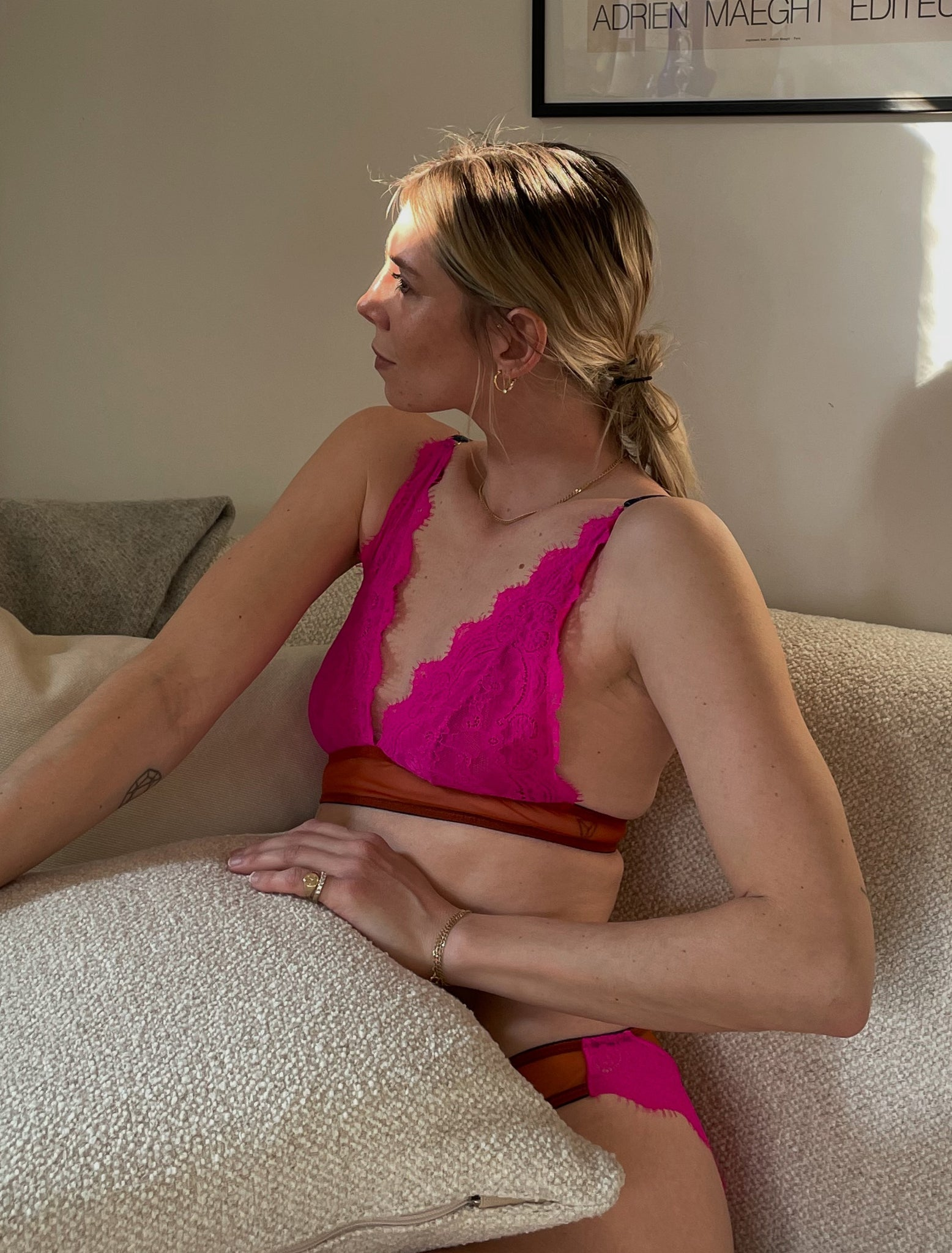 At Home With DL-At Home With Lindsey Holland - Dora Larsen | Colourful Lingerie