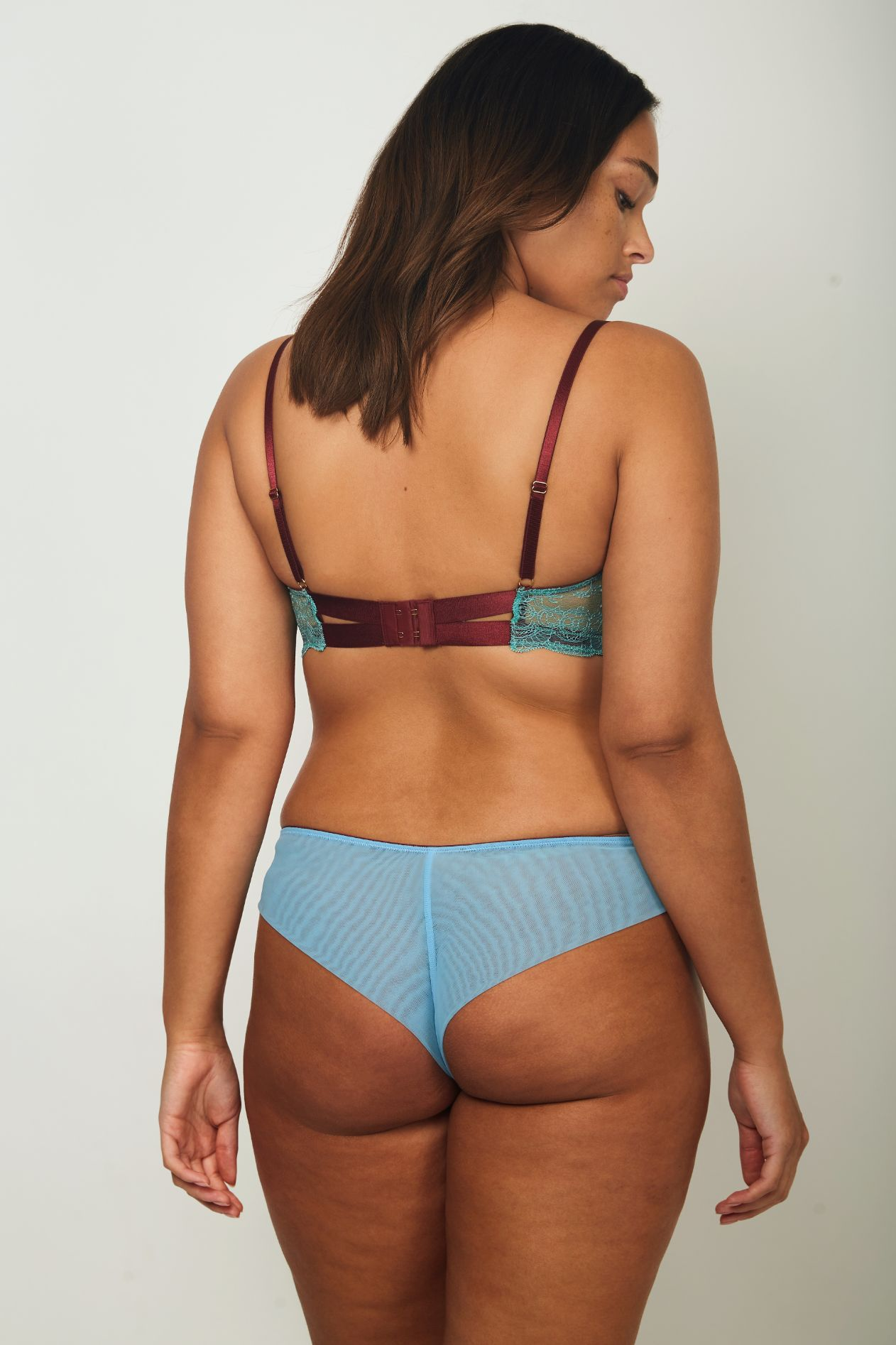 Ebba Seamless Back Knicker - Dora Larsen | Colourful Lingerie