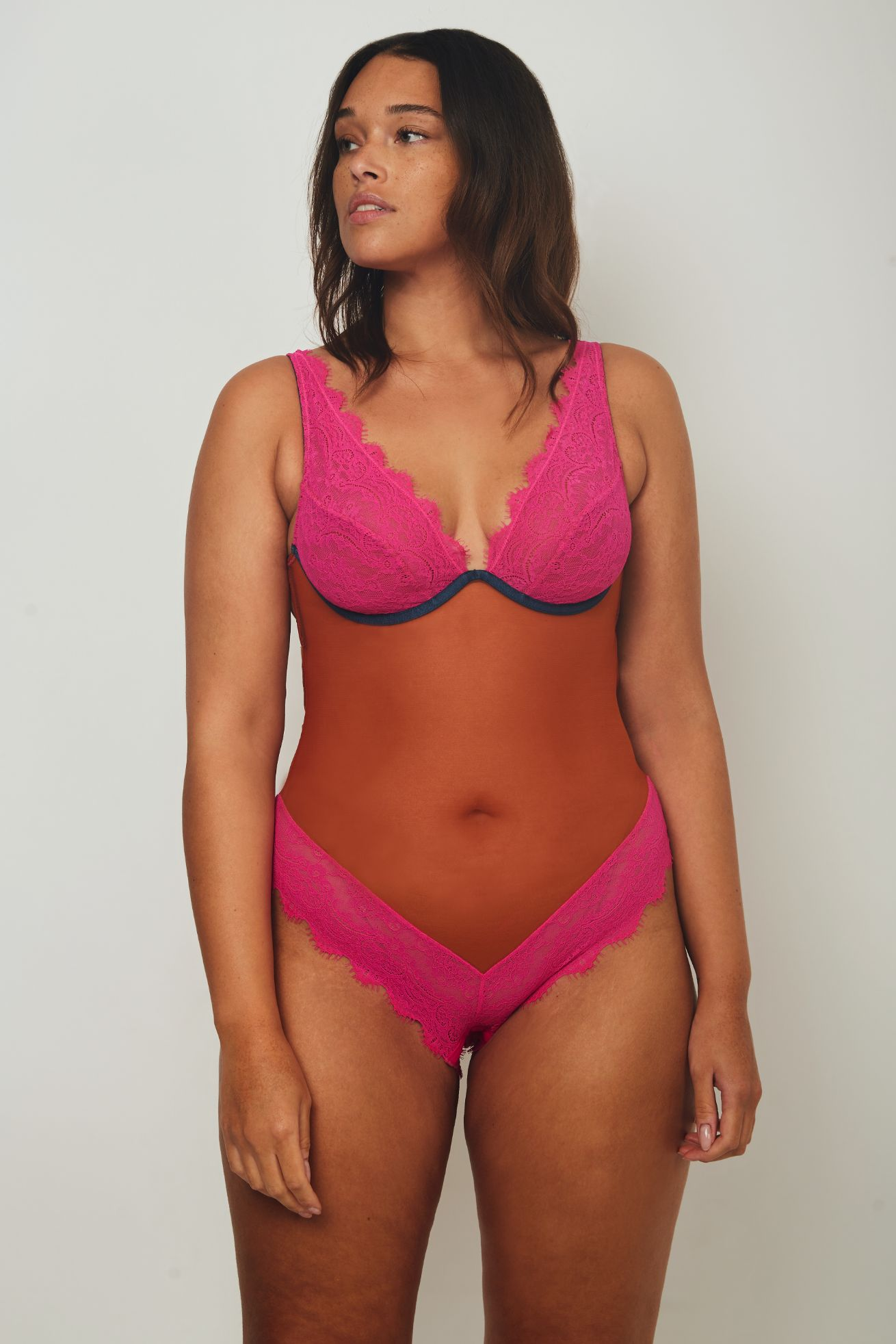 Natalie High Apex Body - Dora Larsen | Colourful Lingerie