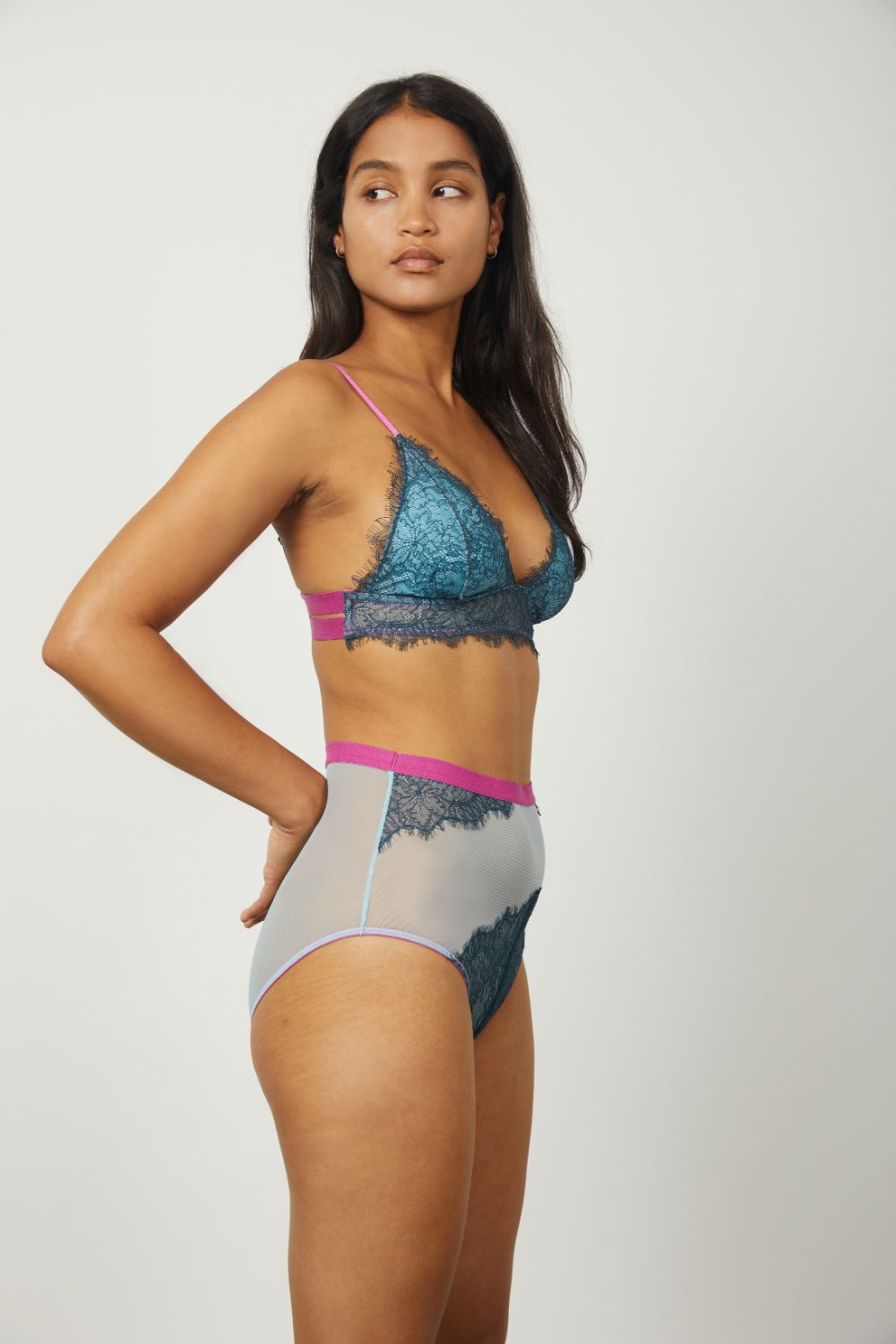 Maria High Waist Knicker - Dora Larsen | Colourful Lingerie