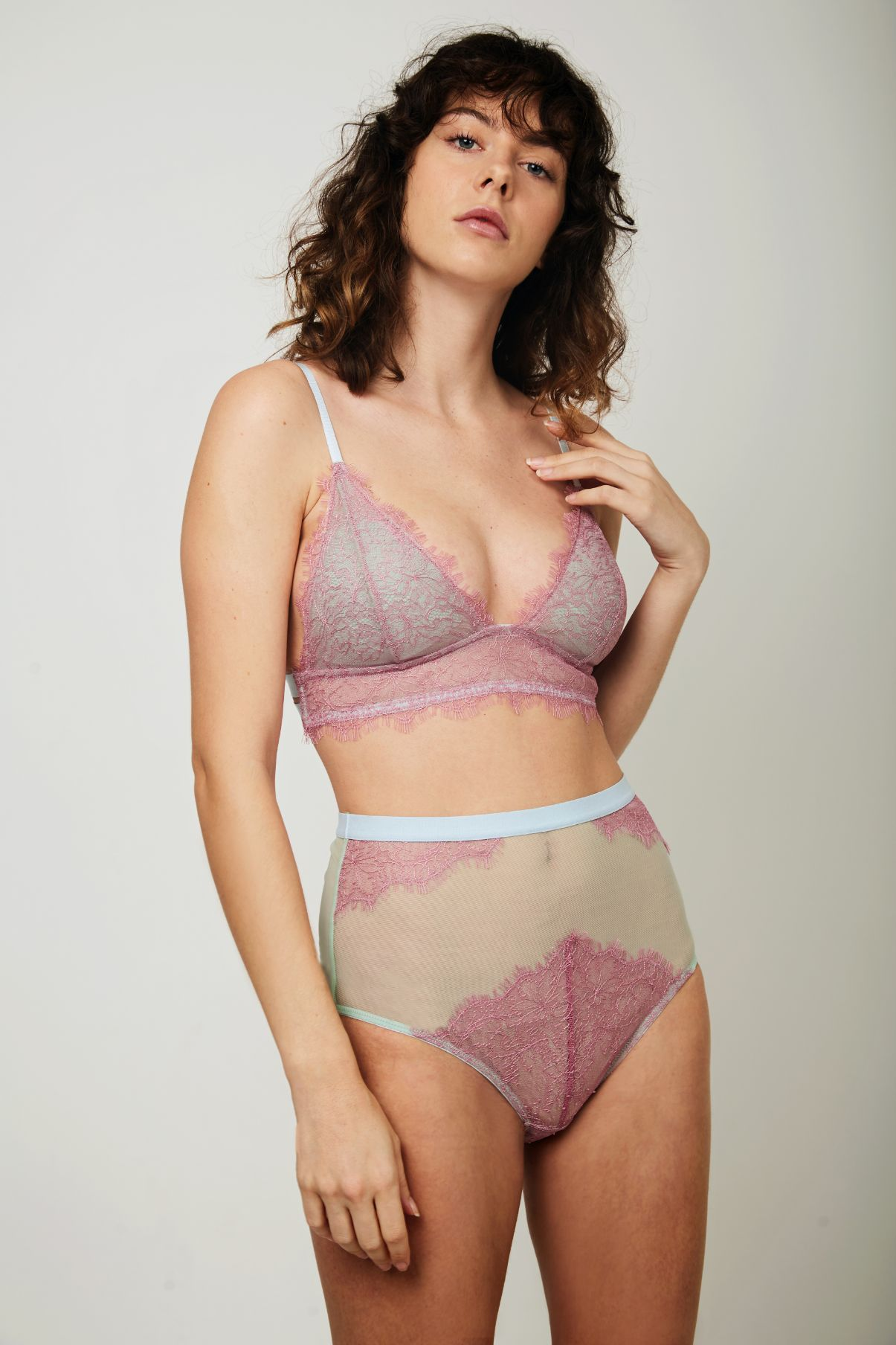 Freya Lace Triangle Bra - Dora Larsen | Colourful Lingerie
