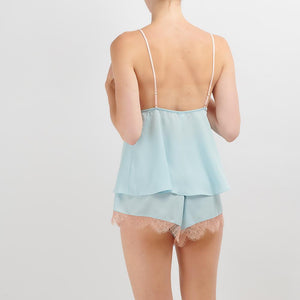 Dora Larsen AW19 | Colourful Lingerie‎ - Amie night cami and short nightwear pyjama set