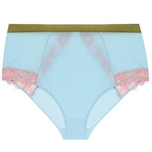 Dora Larsen AW19 | Colourful Lingerie‎ - Bonnie high waist knicker underwear set