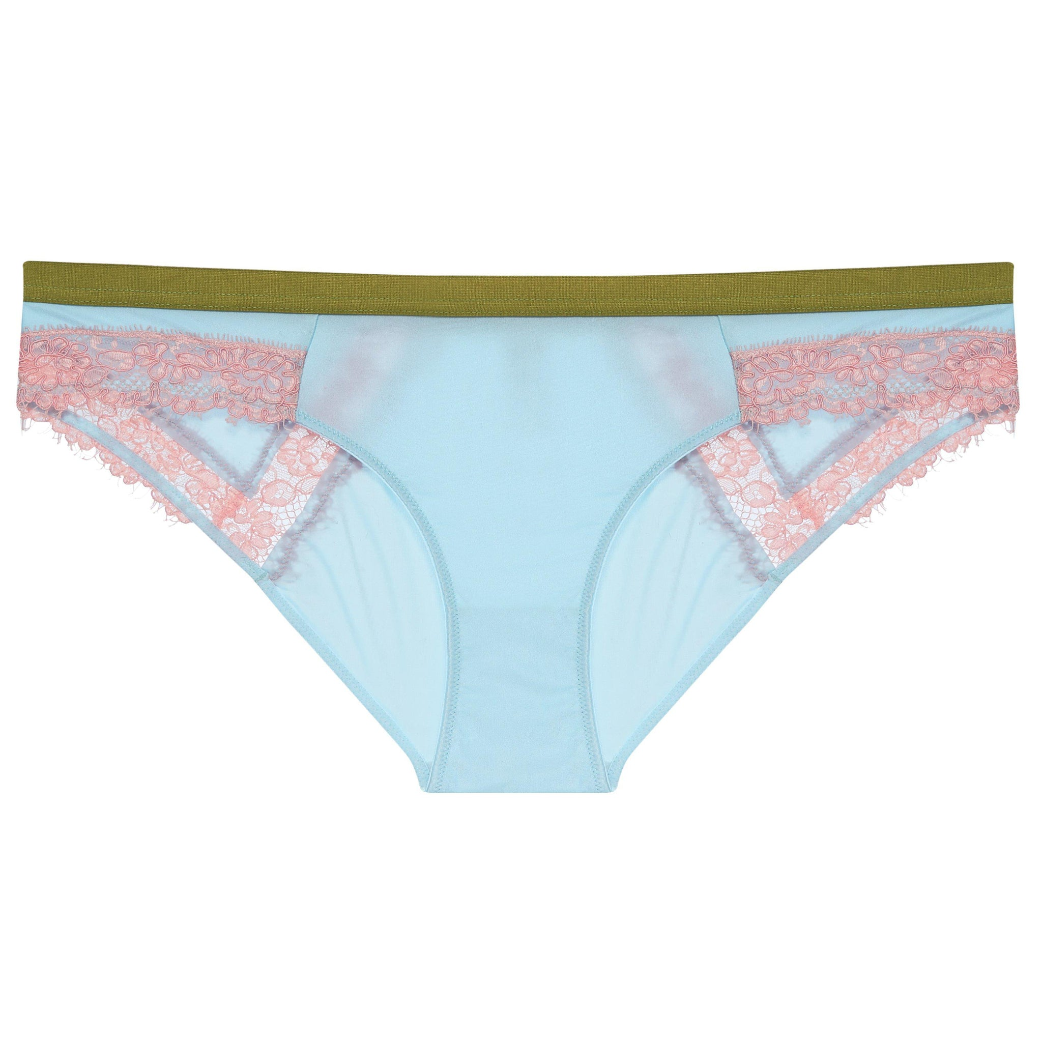 Dora Larsen AW19 | Colourful Lingerie‎ - Bonnie low rise knicker underwear set