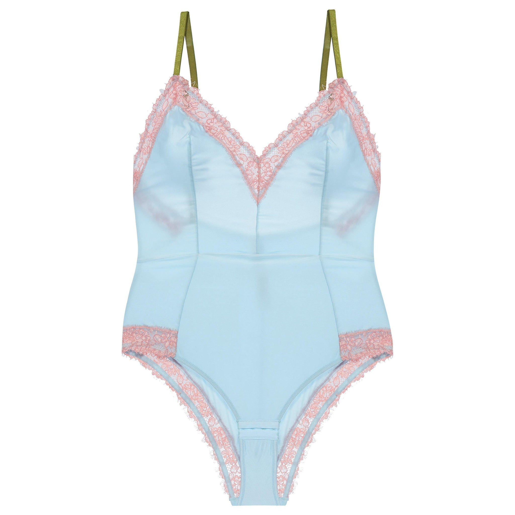 Dora Larsen AW19 | Colourful Lingerie‎ - Bonnie soft cup body bodysuit underwear