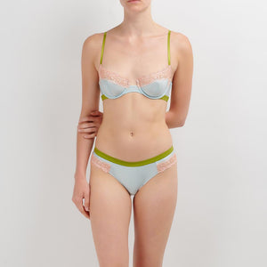 Dora Larsen AW19 | Colourful Lingerie‎ - Bonnie underwire bra and low rise knicker underwear set