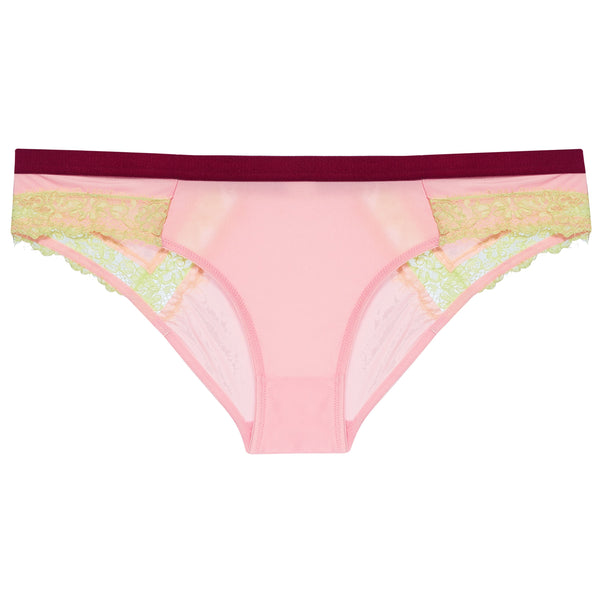 Dora Larsen AW19 | Colourful Lingerie‎ - Clemence low rise knicker underwear set