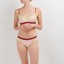 Load image into Gallery viewer, Dora Larsen AW19 | Colourful Lingerie‎ - Clemence soft bra bralette and low rise knicker underwear set