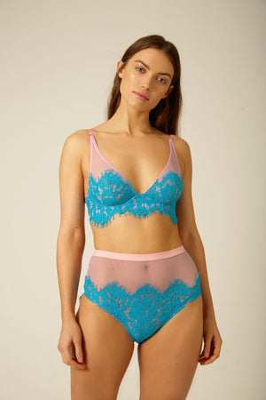 Lucia High Waist Knicker - Dora Larsen | Colourful Lingerie‎