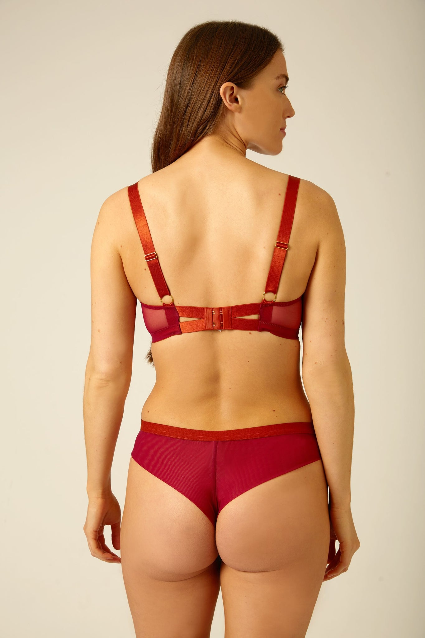 Ana Seamless Back Low Rise Knicker - Dora Larsen | Colourful Lingerie‎