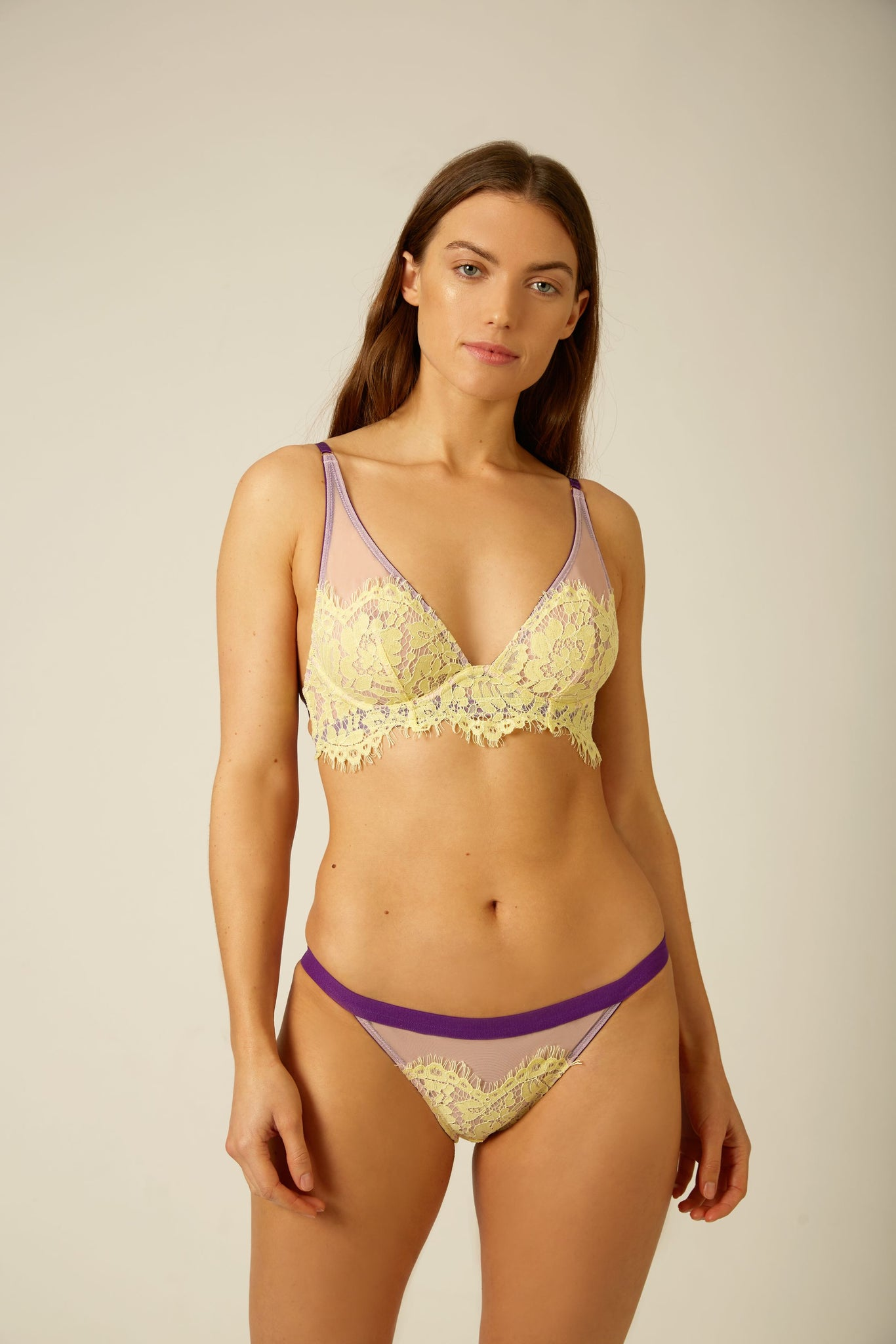 Evie Low Rise Tanga Knicker  - Dora Larsen | Colourful Lingerie‎