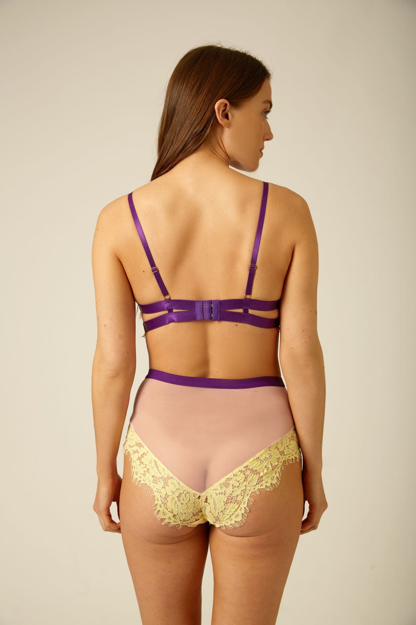 Evie High Waist Knicker - Dora Larsen | Colourful Lingerie‎