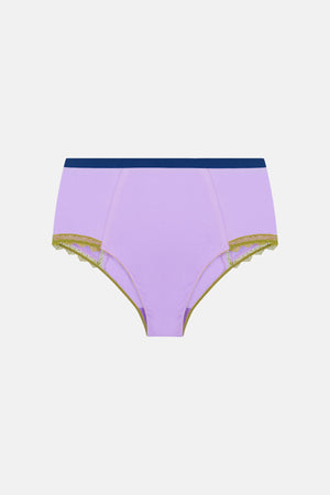 Lily High Waist Knicker - Dora Larsen | Colourful Lingerie