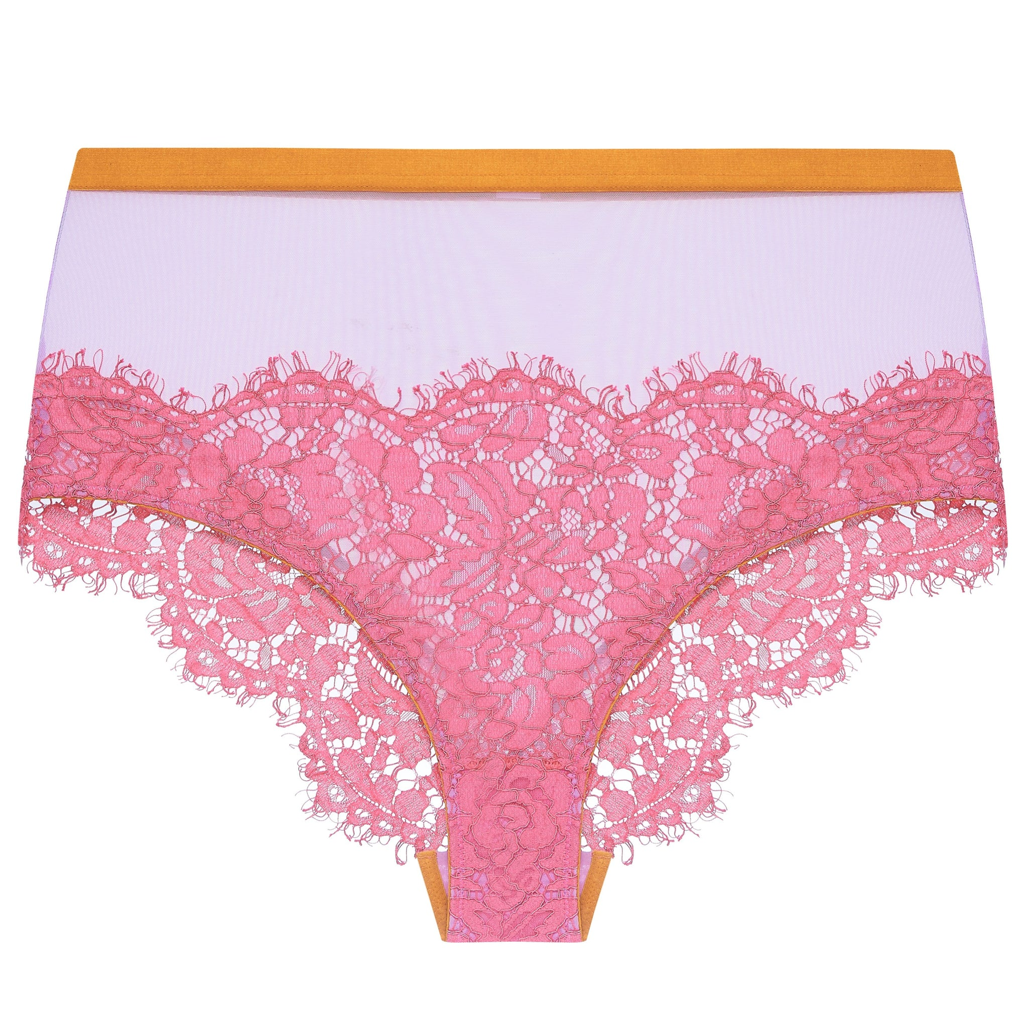 Dora Larsen AW19 | Colourful Lingerie‎ - Sadie high waist knicker underwear set